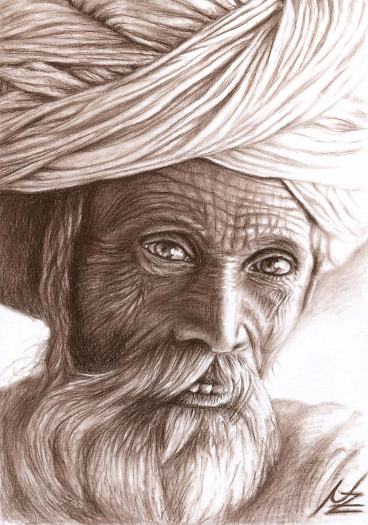 Alter Inder - Old Indian Man