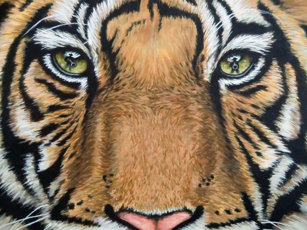 Tigers Last Roar - Detail