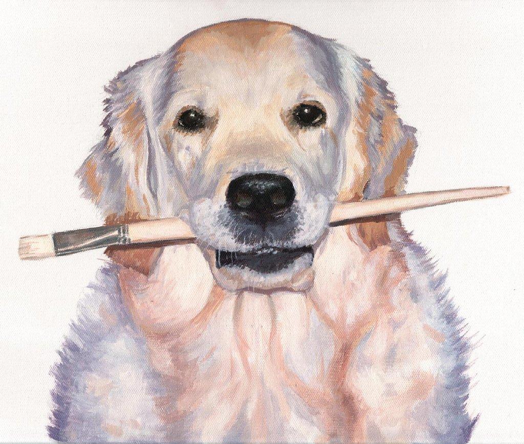 Artist Dog