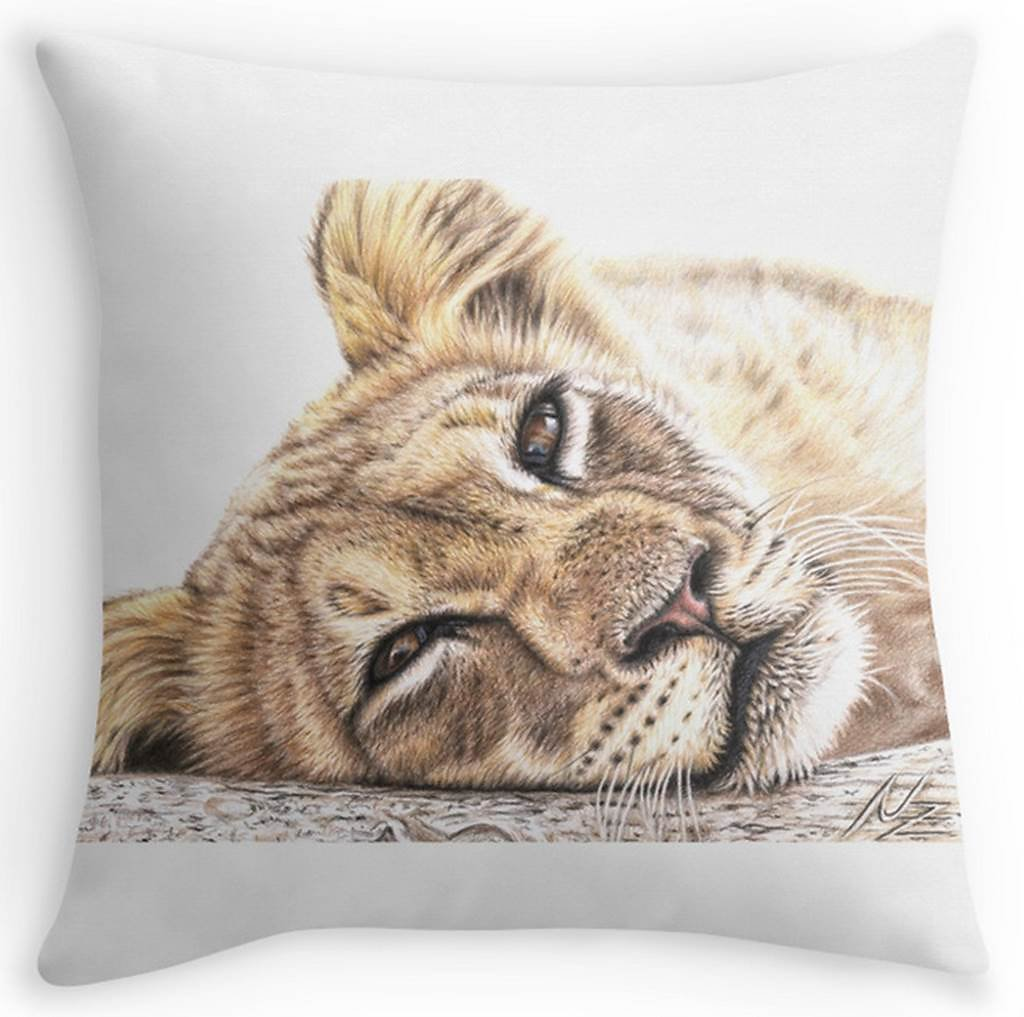Lion Pillow - Löwe Kissen